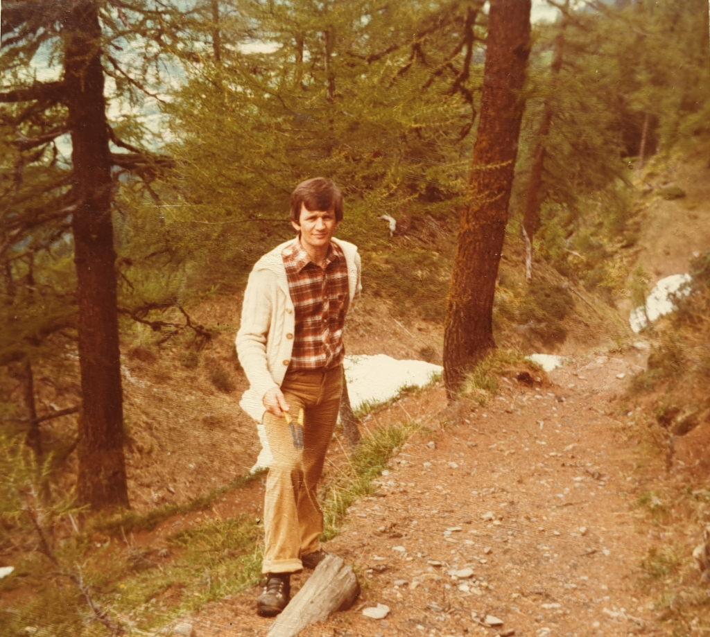 Alpweg - zuoberst im Bärefat